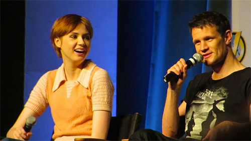 anglophenia:  DOCTOR WHO'S DAY ROUNDUP: Matt Smith and Karen Gillan (and Whoopi Goldberg) at Wizard World Comic Con, John Barrowman and Julie Gardner Awarded MBEs, Interactive Doctor Who Timeline, and MORE!  Over the weekend, Karen Gillan and Matt Smith met the Whovian hordes at the Wizard World Comic Con in Philadelphia. As we know, this is something the both of them are supernaturally good at, and there are a heap of interesting quotes from their joint Q&A currently whizzing around the internet.  Click here for Matt and Karen's thoughts on Shakespeare, shaved heads, and snapshots with Whoopi.   (Source!)
