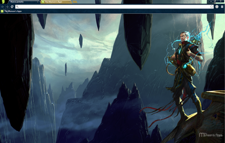 New MTG Chrome Theme Ral Zarek Available!