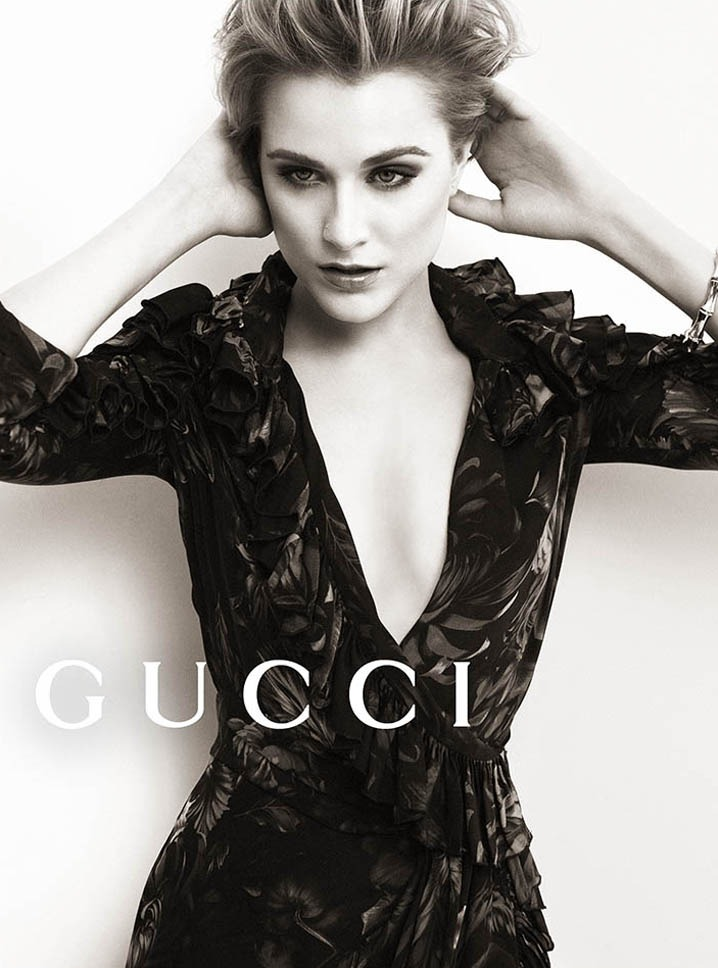 Evan Rachel Wood for Gucci