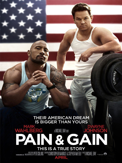 First trailer for Pain & Gain: watch now The first trailer has arrived for Michael Bay's musclebound saga Pain & Gain and it looks to be a promising blend of chaotic action and meatheaded humour…
