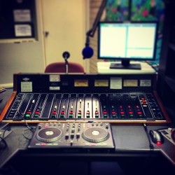 Making #radio (at Radio Fremantle)