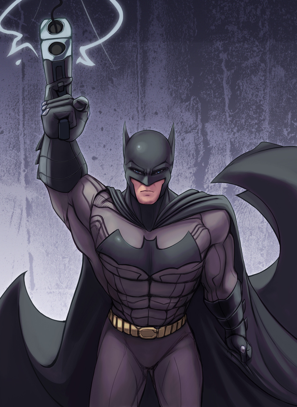 comic-jazz:  Batman by hybridmink