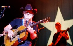 Willie Nelson at the San Angelo Coliseum in 2008. Photo by Cynthia Esparza of the San Angelo Standard-Times. Happy 80th birthday to the old man himself. May he never perish from this earth.