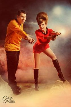 turner-d-century:  Retro Star Trek cosplay from Samantha SamSam (HT SuperHero Stuff)