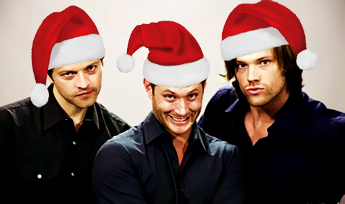 ikoiako:  Supernatural Santa Boys :)