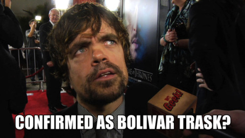 We chased Peter Dinklage down to ask if he's playing Bolivar Trask in Marvel's X-MEN!