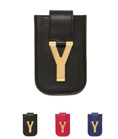 SAINT LAURENT PARIS - Y IPHONE 4 CASE ($425)