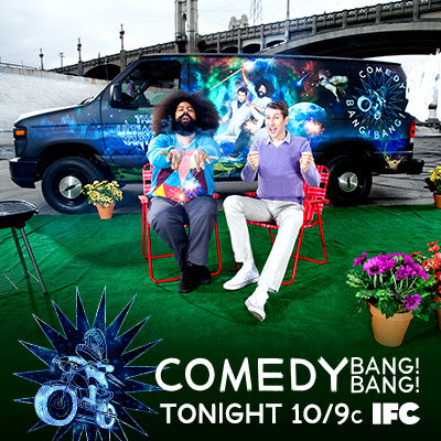 ifc:  TONIGHT! Season 2 of Comedy Bang! Bang! premieres tonight at 10/9c on IFC with special guest Andy Samberg.