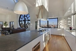 cjwho:  Clock Tower Penthouse in Brooklyn / New York