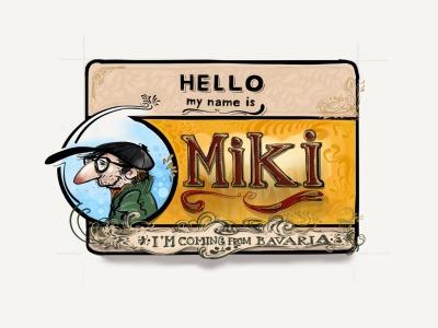 Hoho ;-) My name is Miki