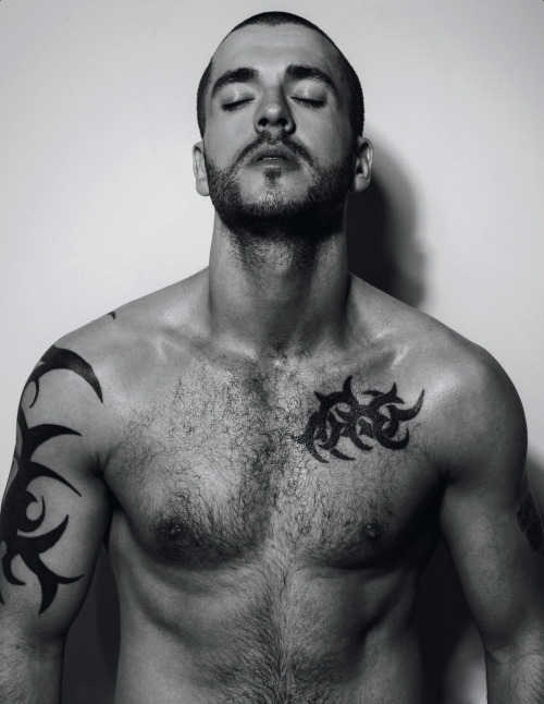 homotography:  Shayne Ward by Joseph Sinclair, Attitude March 2013