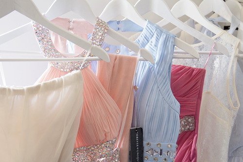 Every Little Lady Loves a Rackful of Lovely Dresses