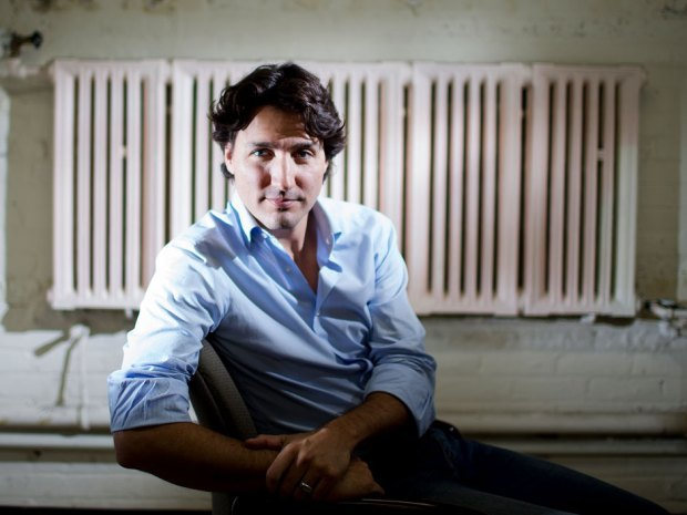 Justin Trudeau elected new Liberal leader in landslide with 80% of voteJustin Trudeau has been elected to lead the federal Liberal party in a resounding first-ballot win.Trudeau, eldest son of former prime minister Pierre Trudeau and the Liberals' undisputed star, swept 80% of the vote in a final field of six candidates.The outcome was widely seen as a foregone conclusion since Trudeau launched his campaign last October. Now, the Liberals are hoping that the party's undisputed rock star will be able to re-establish their reputation as the country's natural governing party.His ascension to the Liberal helm will, at least in the short term, put paid to the notion that the next election will be a polarized two-way fight between the Conservatives and New Democrats, with the Grits destined for oblivion.Just the prospect of the 41-year-old Montreal MP's victory was able to boost the Liberals, reduced to a third-place rump in 2011, back into contention in public opinion polls. They are now running even with or ahead of the ruling Conservatives. The NDP has been relegated to its traditional third place slot after vaulting into official Opposition status in 2011 for the first time in its history. (Michelle Siu for Postmedia News)