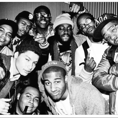 #TBT STARRING - DUN, A.CHAL, STEVE - O, SAINT, THEO, MELO - X, MICKY, CHUCK, AND SIR MIKEY #REPPIN #WE #REALLY #BE #OUT #SIDE