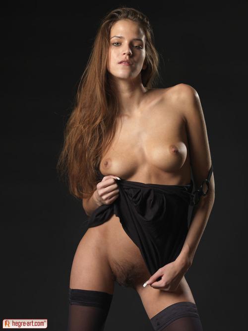 Silvie Black on Black