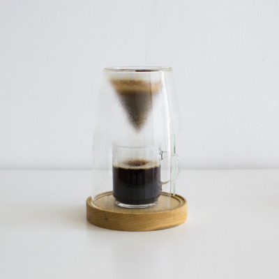 dlodewyk:  New coffee maker from Craighton Berman. I love his Coil Lamp and I am excited for this new project that will soon become a Kickstarter project.I love the presentation that the coffee gets with this drip brewer. Puts the brew up on a pedestal. I don't know if it will be a great thing but it is a cool idea none-the-less.