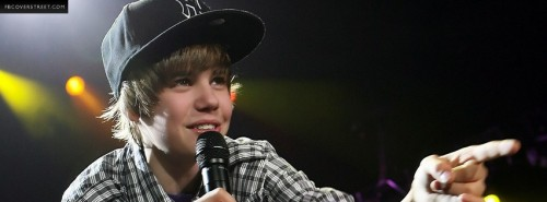Justin Bieber 2 Photograph Facebook Cover