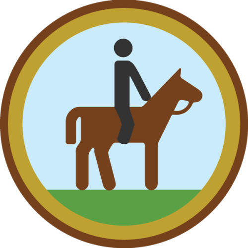 lifescouts:  Lifescouts: Horse Riding Badge If you have this badge, reblog it and share your story! Look through the notes to read other people's stories. Click here to buy this badge physically (ships worldwide). Lifescouts is a badge-collecting community of people who share real-world experiences online.  used to go horse riding a lot when in Ireland…my horse was called sandy I think she was pretty :)