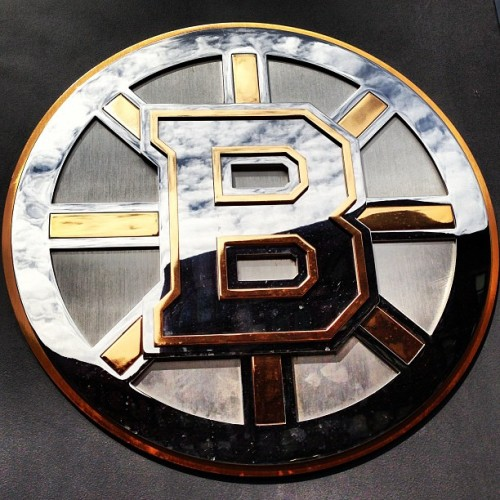 from Boston #chicago #boston #bruins #tdgardens