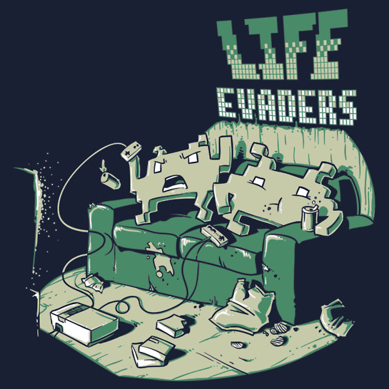 Life Evaders T-shirts available on RedBubble Created by Nathan Davis