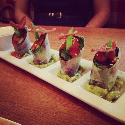 Summer rolls. Redfarm.