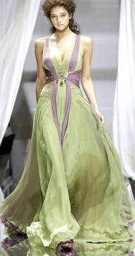Zuhair Murad via [Belly Dance Costume Inspiration Pinterest Board]