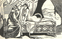 From La Sorcière by Martin Van Maele 1911