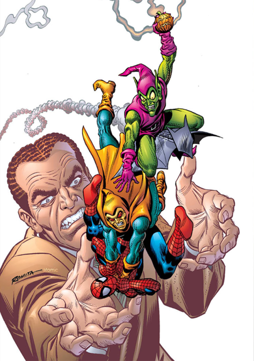 Spider-Man, Green Goblin and Hobgoblin
