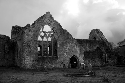 Athenry Abbey near Galway, Ireland.