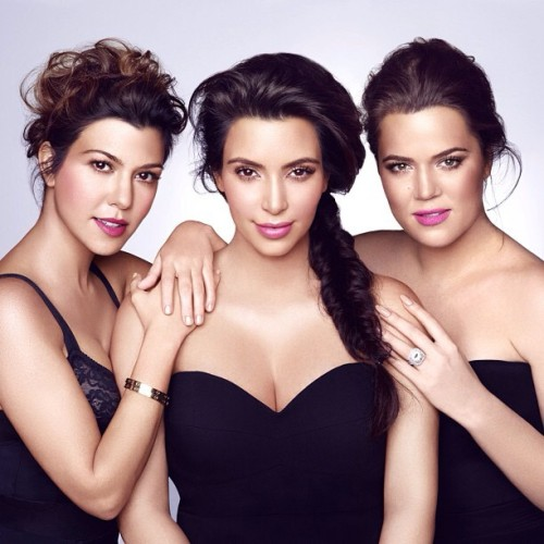 kompletelykfan:  The fabulous three! Love this shot for Kardashian Beauty