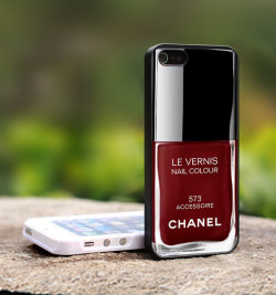 Chanel Le Vernis iPhone cases are a thing! AMAZE.