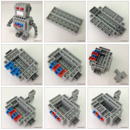 nanoblock Vintage Robot build instructions are out now 😁 … http://tiny.cc/vintagerobot … #chrisnanoblock #nanoblock #nanoblocks #bricks #blocks #buildingblocks #toy #vintage #robot #android