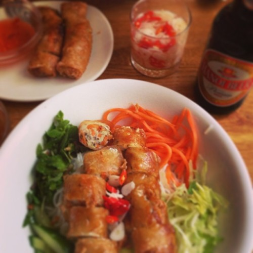 Vietnamese dinner night! / on Instagram http://bit.ly/13PQ0Kl