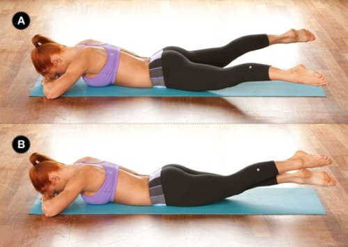journeyofvictoria:  crunchless ab workout. Great for your abs + booty ;)