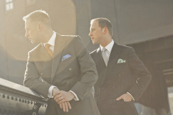 lordashbury:  King Brothers Clothiers, New York.  A cool pic from our shoot with Lord Ashbury…