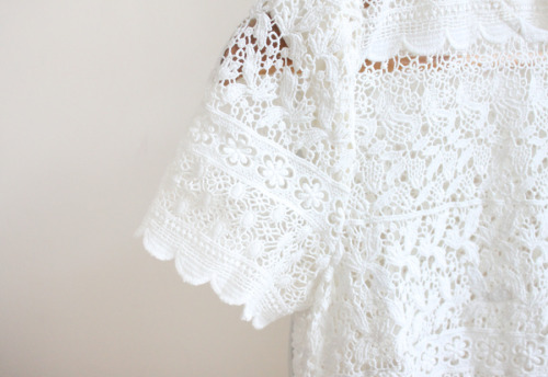 crochet top, jack wills