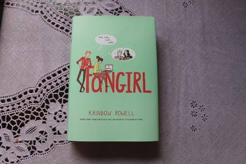 """Fangirl"" by Rainbow Rowell. A book all fangirls must read!"