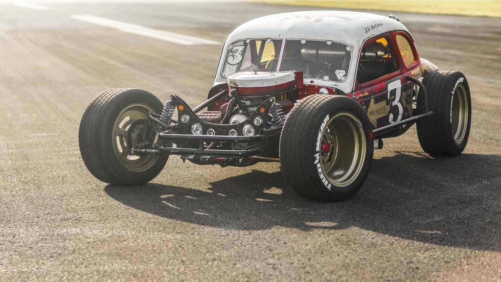 Vintage Dirt Track Car Racing Photos
