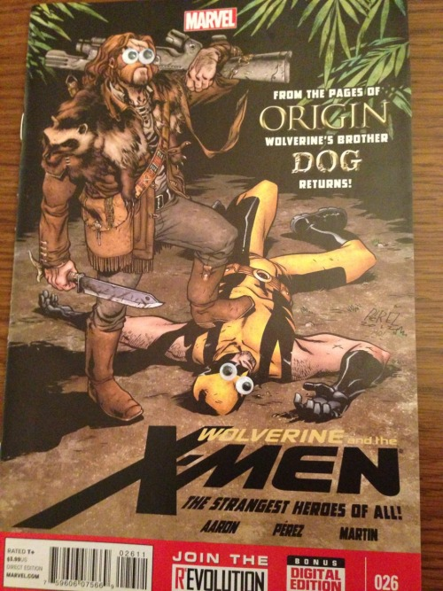 Yo dawg, I heard you like Logans so I put some Logans in your X-Men!