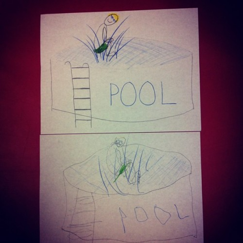 #pool #splash #work #therapy #drawing #sketch #art #autism #myturnyourturn