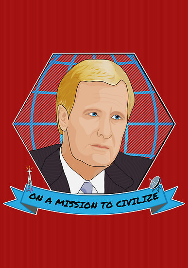 """On a mission to civilize"" by Emma Harckham 