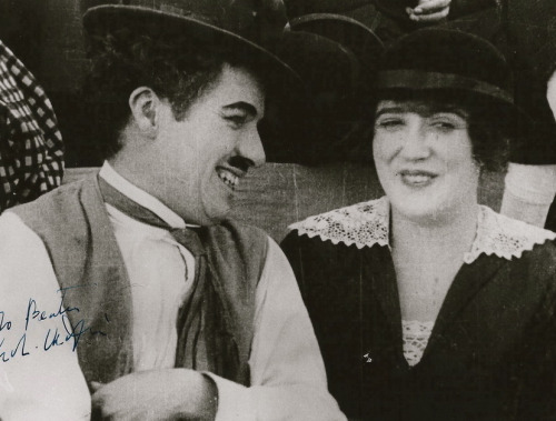 Charlie and Mabel Normand in Gentlemen of Nerve c.1914