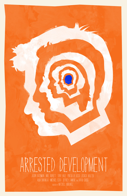 minimalmovieposters:  Arrested Development by William Henry