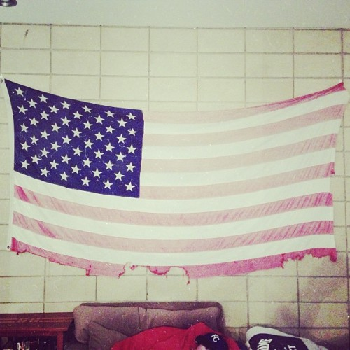 beaten + beautiful | #usa #flag #america