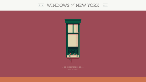 Windows of New York by José Guizar