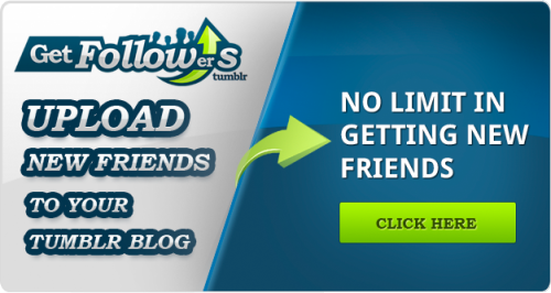 Get more followers has never been so easy. Use this ultimate follower program to get upto 100 followers a day on tumblr. Click and join and get started!