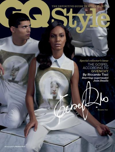 The Gospel according to Givenchy…starring Joan Smalls for GQ Style [UK, Spring 2013]