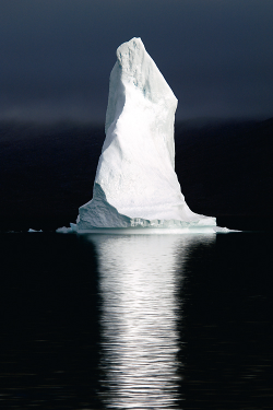 vurtual:  Polar Pinnacle (by David C. Schultz) Iceberg in the Scoresbysund Fjord, Greenland.