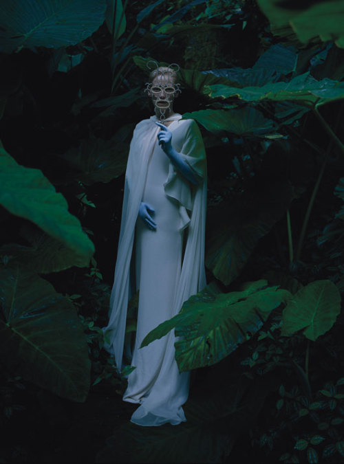 thehighlandrape:    TILDA SWINTON by TIM WALKER - Stranger Than Paradise for W Magazine, May 2013