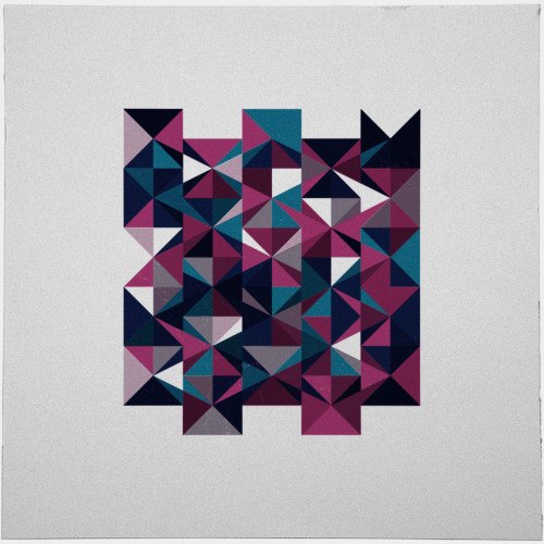 geometrydaily:  #438 Queen of thorns – A new minimal geometric composition each day